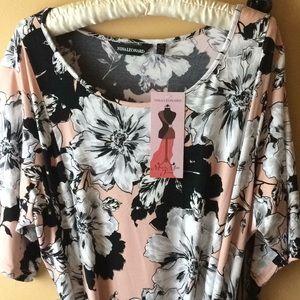 Nina Leonard, Miracle Mattie Jersey maxi dress,